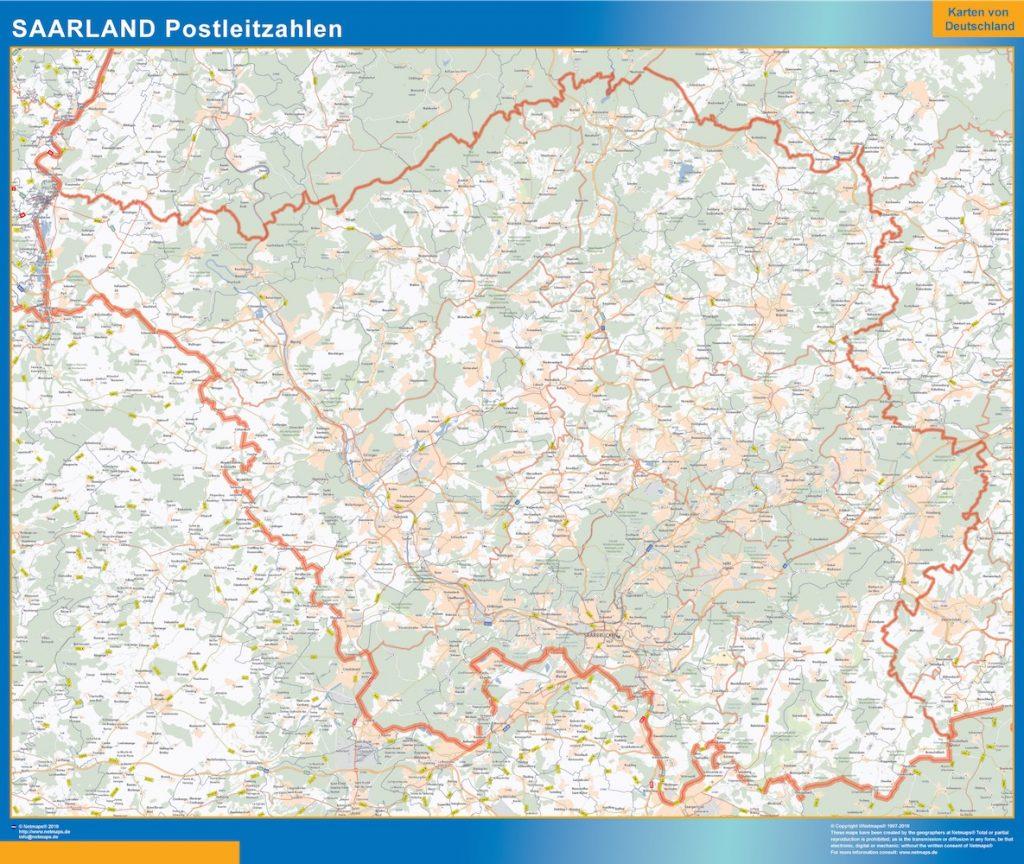 Saarland Postleitzahlen